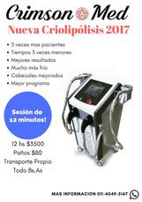 Alquiler De Criolipólisis Doble Sveltia 2017 Sesión 10min