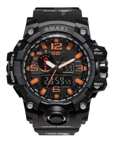 Relógio Militar Sport Digital Smael 1545 + Brinde - Envio Já