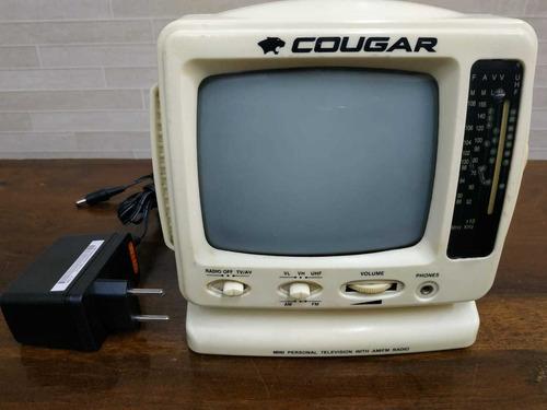 Tv Portátil Cougar - Ctv-450-w