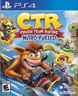 Crash Team Racing Nitro Fueled Digital Primaria Ps4