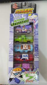 Racing Champions Dexters Laborrtory 5 Pack Diecast Cartoon N