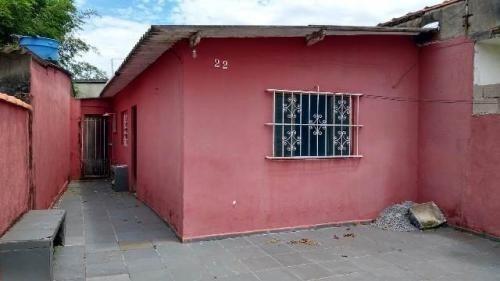 Casa Com 06 Cômodos No Palmeiras - Itanhaém 4999   P.c.x
