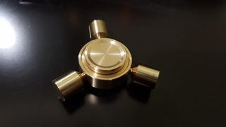 Fidget Spinner: Dorado