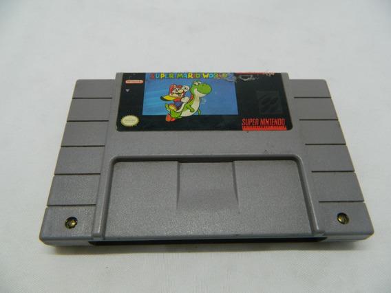 Super Mario World Original Para Super Nintendo - Salvando -