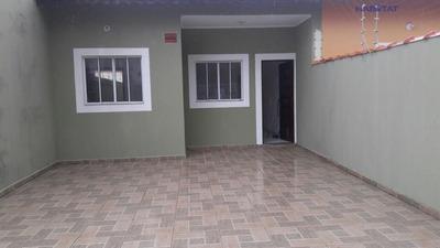 Casa A Venda No Bairro Campos Elíseos Em Itanhaém - Sp. - 1012-7414