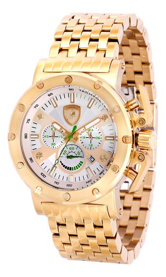 Relógio Lamborghini Lb90029675m Masculino