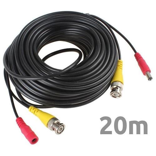 Cable De Video Bnc Plug De 20m Cv20