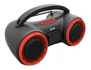 Parlante Stereo Inalam Sanyo Bth16 Bluetooth Mp3 Radio Gtia