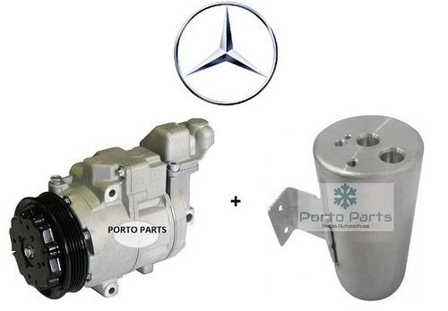Imagem 1 de 3 de Compressor Ar Cond Mercedes Benz Classe A 160 190 + Filtro