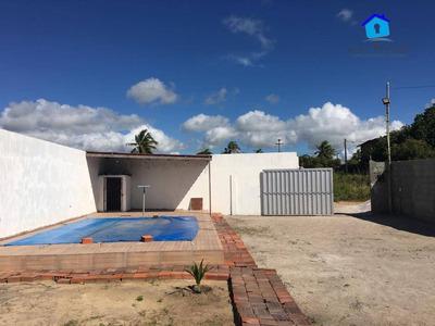 Vendo Casa Nova 3 Qts, Terreno De 360m² Em Carapibus! - Ca0473