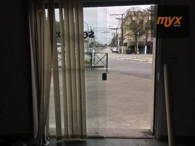Loja Para Alugar, 100 M² Por R$ 3.000/mês - Vila Matias - Santos/sp - Lo0116