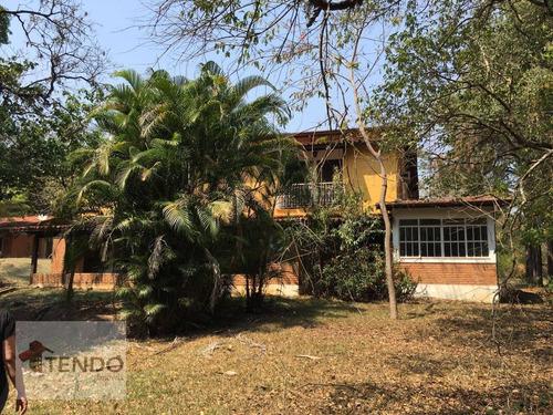 Chácara 6000 M² - Venda - 4 Dormitórios - 1 Suíte - Vale Das Laranjeiras - Indaiatuba/sp / Imob02 - Ch0013