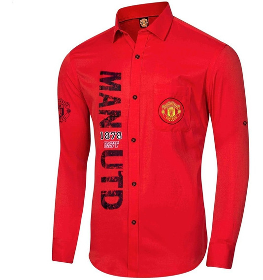 Camisa Club Manchester United Hombre Comtex Mmu2082r