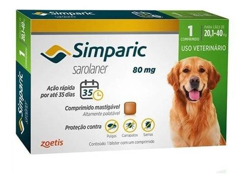 Antipulgas Simparic Cães 20 - 40kg