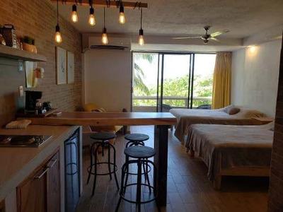 Nuevo Estudio Con Acceso A Playa En Zona Hotelera