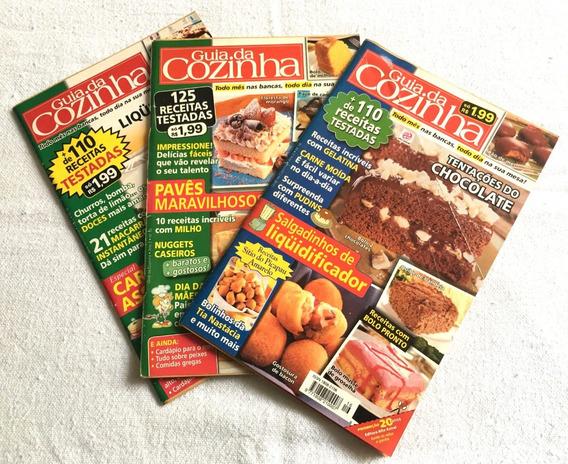 Revista Guia De Cozinha Da Ed. Alto Astral - Lote 3 Pçs 2006