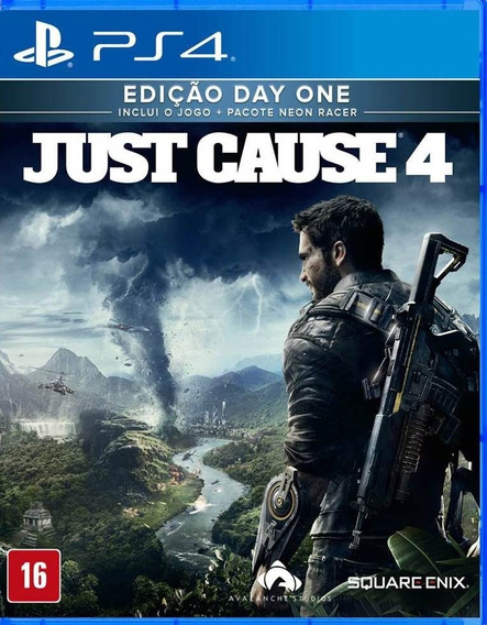 Game Just Cause 4 Day One Edition Ps4 Mídia Física Lacrado