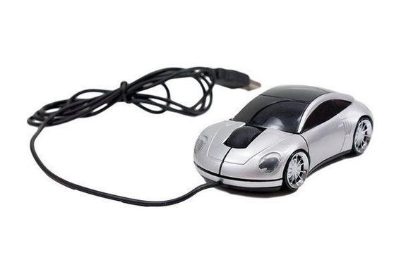 Promoção 25 Mouse Óptico Usb Modelo Carro Cabo Usb Atacado