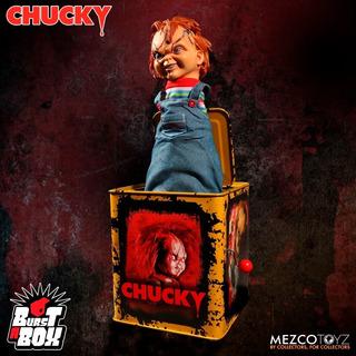 Mezco Chucky Burst A Box Terror Movie Maniacs (39 Cms)