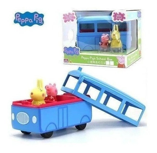 Ônibus Escolar Da Peppa Com Som - Peppa Pig - Sunny 2305