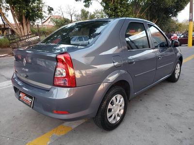Renault Logan 2012 Completo ( - ) Ar 1.0 Flex Revisado