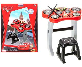 Bateria Electronica Cars Con Asiento Original Disney