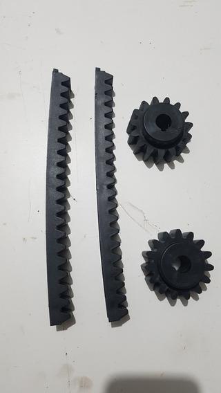 Gomo De Cremalheira Nylon 25cm Para Portão Com Engrenagem