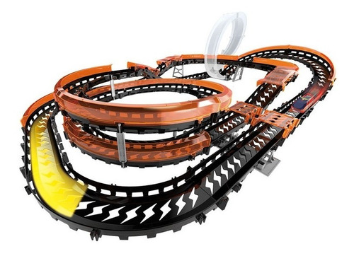 Imagem 1 de 6 de Hot Wheels Pista Wave Racers Epic Challenge - Fun Original