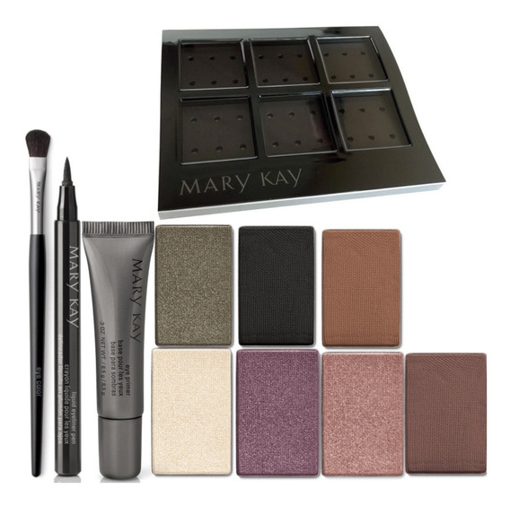 Kit De Maquiagem Completo Profissional Sombras Luxo Mary Kay