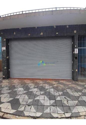 Salão Para Alugar, 200 M² Por R$ 4.500,00/mês - Vila Das Mercês - São Paulo/sp - Sl0061