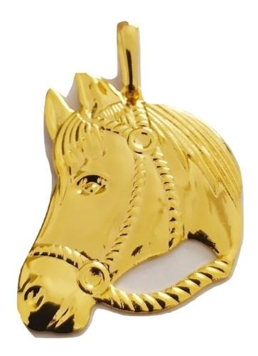 Pingente Rellicari Cavalo Banhado A Ouro 18k - R013