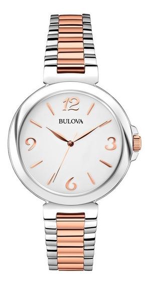 Relógio Bulova Feminino Wb27850q / 98l195