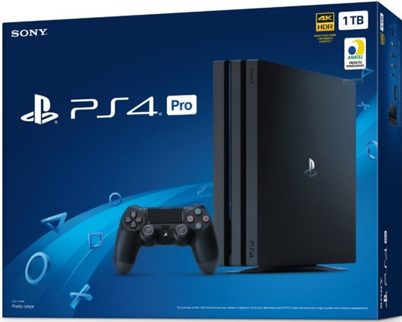 Console Sony Playstation 4 Ps4 Pro 1tb 4k Hdr 7215b