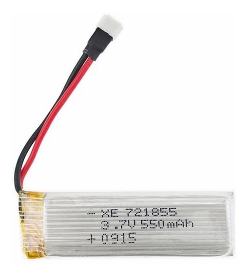 Bateria Potente 3.7v 550mah P/ Drone Wltoys V988