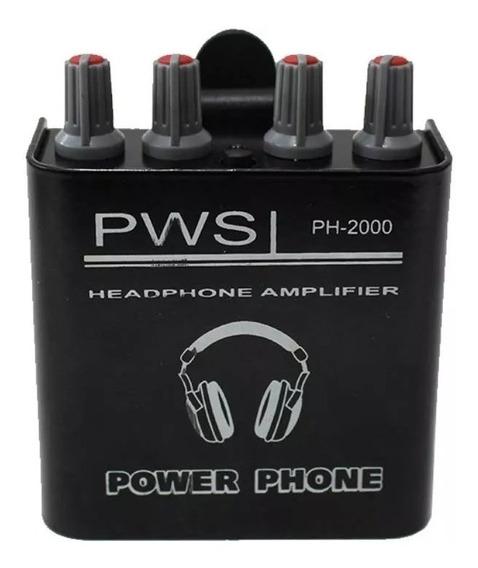 Power Play Retorno De Ouvido Pws Ph 2000- Oferta- I9som