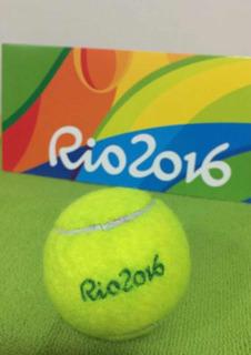 Bola De Tênis Olimpíadas Rio2016