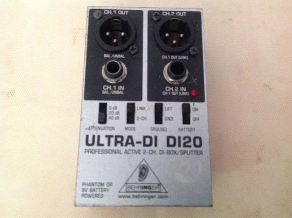 Direct Box Da Behringer Ultra Di Di20