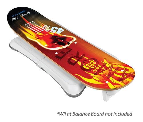 Imagen 1 de 1 de Skateboard Snowboard Nintendo Wii Cta Patineta