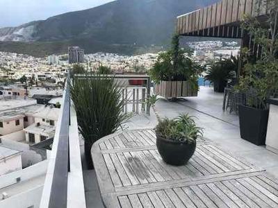 Venta De Departamento Penthouse Colonia San Jeronimo En Monterrey