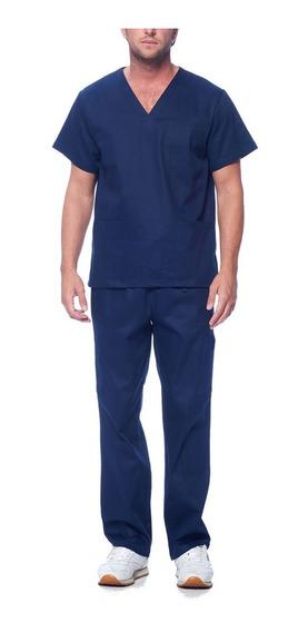 Conjunto Pijama Cirúrgico Unissex - Scrub - 100% Algodão