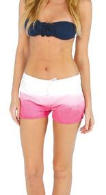 Short Para Dama Tipo Sport 100% Algodón - Short De Playa