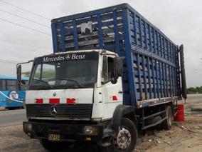 Camion Baranda Mercedes Benz De 12 Tons De Carga