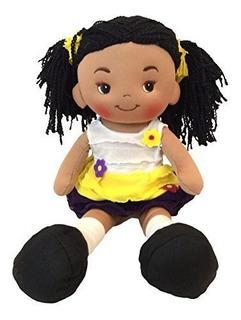 Linzy Toys Alissa Handmade Fabric Muneca De Trapo Con Vestid
