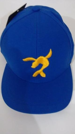 Boné Do Luccas Neto Azul C/ Foca Amarela Lançamento Top!!!