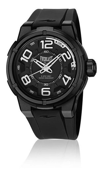 Relógio De Pulso Everlast Masculino Caixa Abs E684