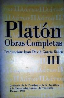 Platon, Obras Completas, Iibros 1,3, 4 , 5, 9 Y 10