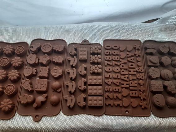 Moldes De Silicona Para Jabones , Dijes, Chocolate.