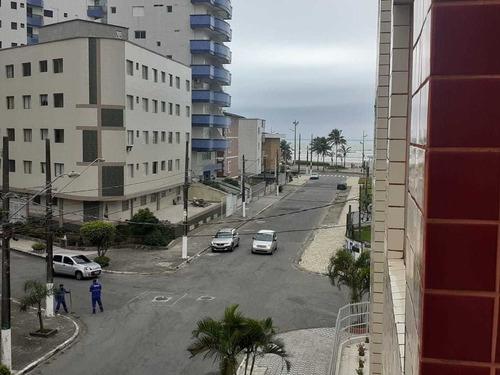 Imagem 1 de 13 de Apartamento A Venda, 1 Quarto, Tupi, Vista Mar, Praia Grande