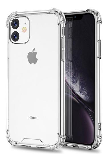 Funda iPhone 11 11 Pro Max Xr X Xs Transparente Uso Rudo Au