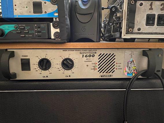 Amplificador De Potência 400w Ll Audio Pro 1600 T